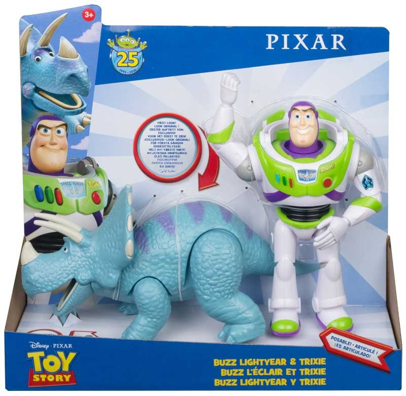 Wholesalers of Disney Pixar Toy Story Buzz Lightyear And Trixie 2-pack toys