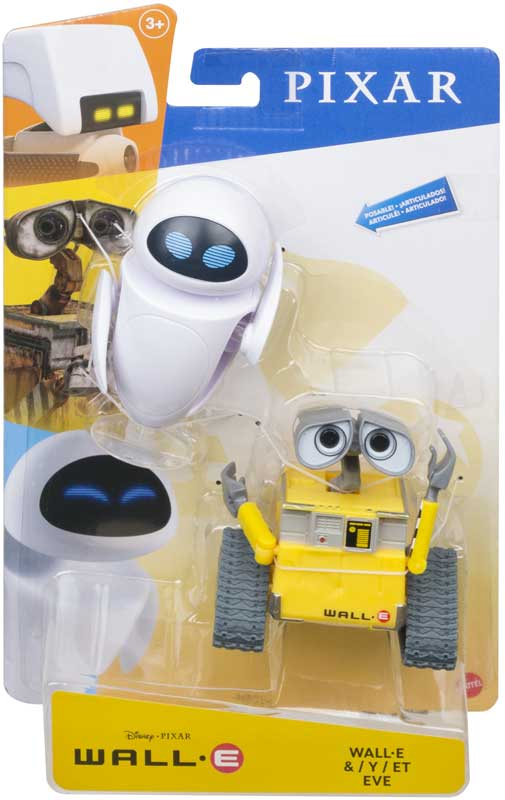 Wholesalers of Disney Pixar Wall-e & Eve Figures toys