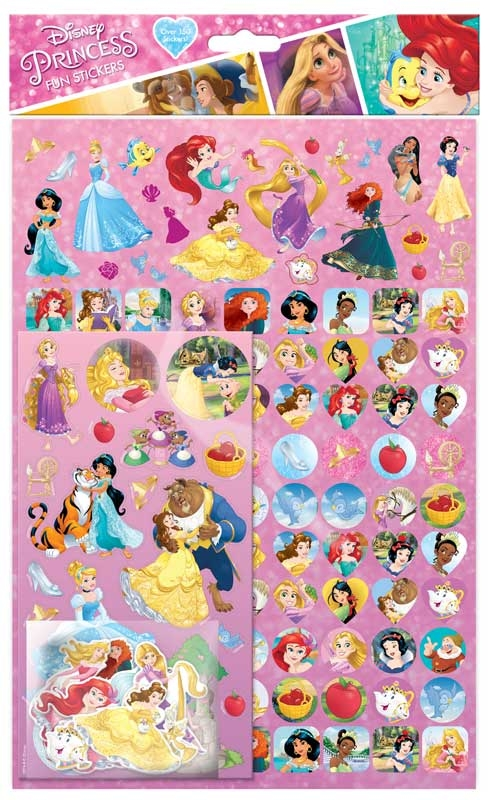Disney Princess Mega Sticker Pack Wholesale