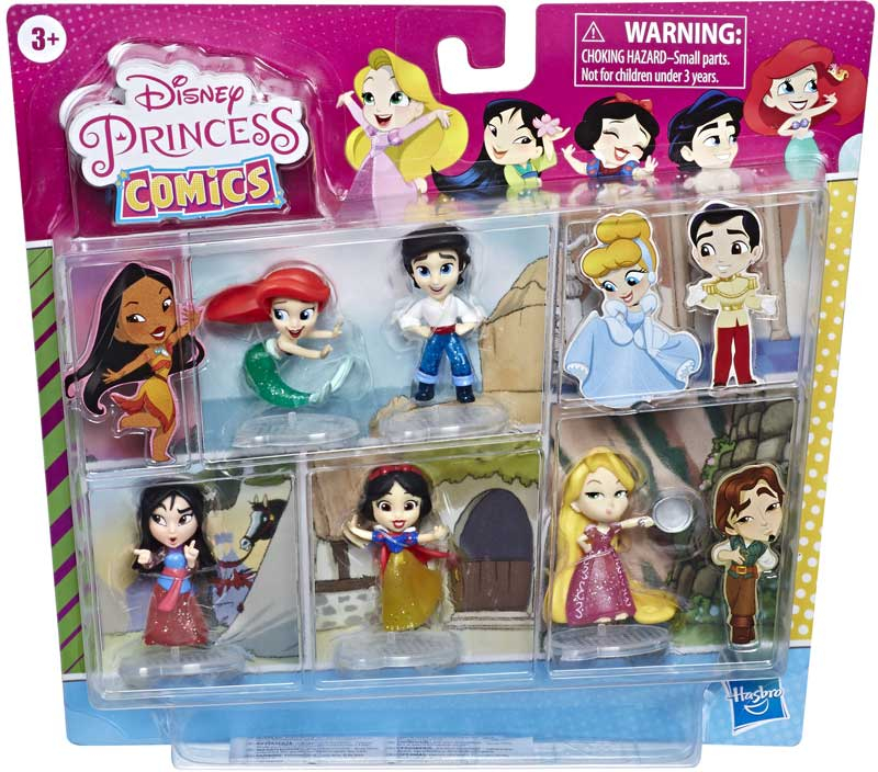 Wholesalers of Disney Princess 2in 5pk Ariel And Eric toys