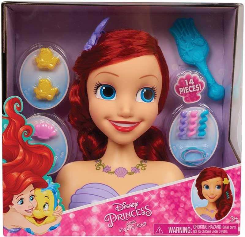 Wholesalers of Disney Princess Ariel Styling Head toys