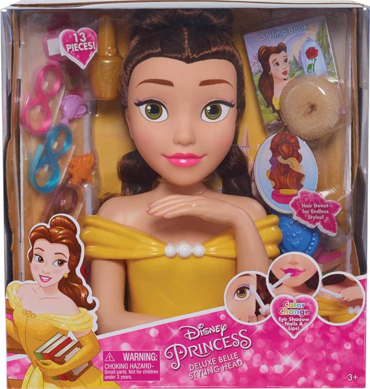 Wholesalers of Disney Princess Belle Deluxe Styling Head toys