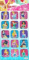 Wholesalers of Disney Princess Captions Foil Stickers toys image