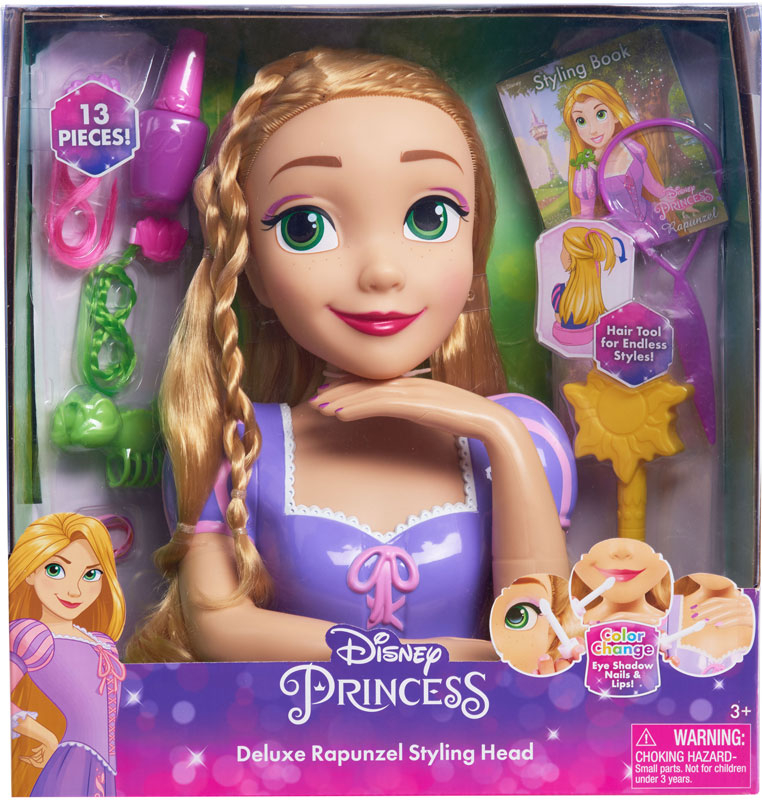 Wholesalers of Disney Princess Deluxe Rapunzel Styling Head toys