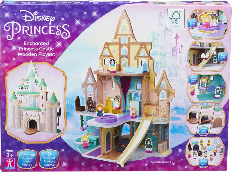 Wholesalers of Disney Princess Enchanted Princess Castle Wooden Playset toys