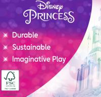 Wholesalers of Disney Princess Enchanted Princess Castle Wooden Playset toys image 5