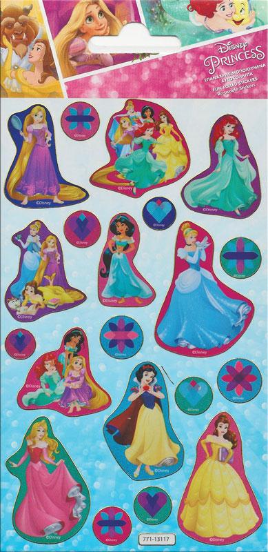 Wholesalers of Disney Princess Foil Stickers toys