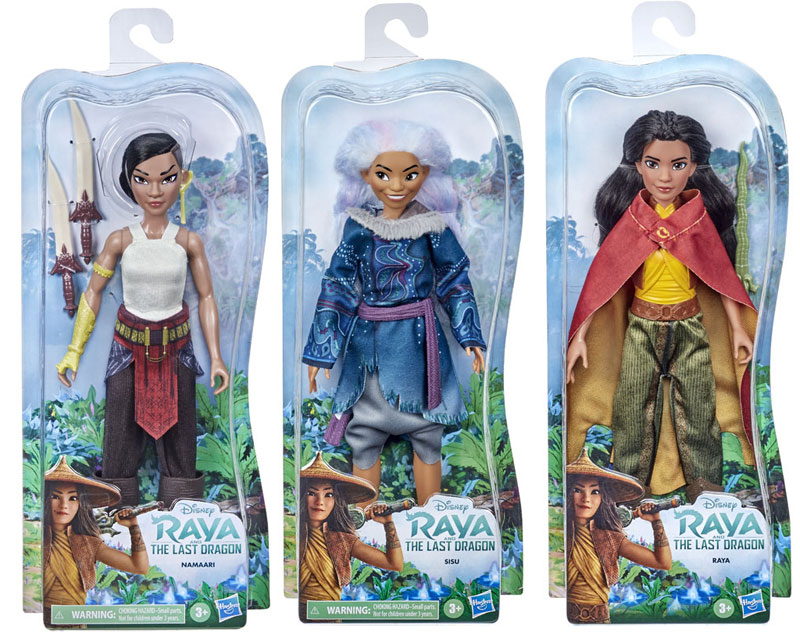 Wholesalers of Disney Princess Raya Doll Asst toys