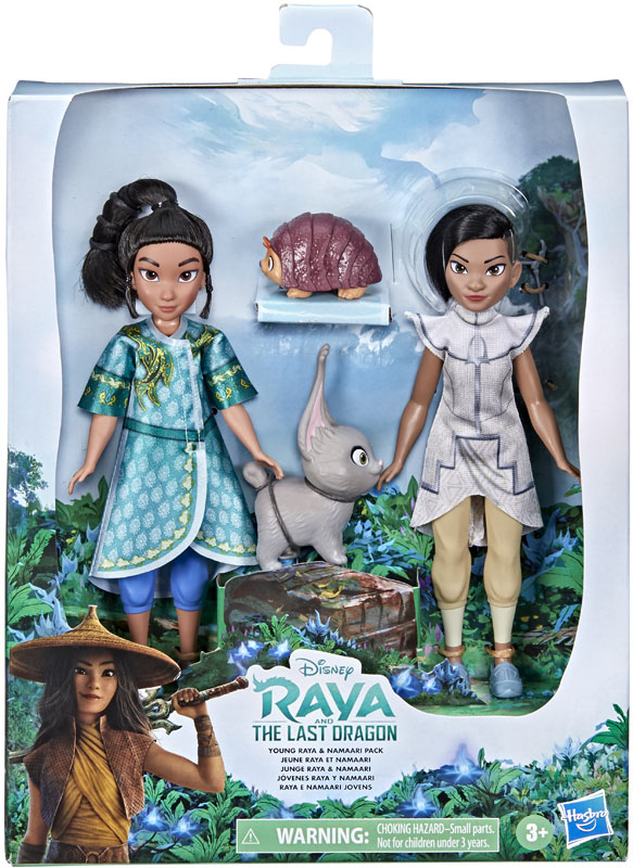 Wholesalers of Disney Princess Rai Young Raya And Namaari Pack toys