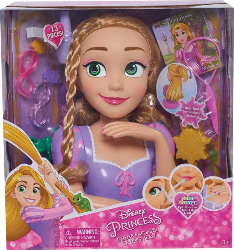 Wholesalers of Disney Princess Rapunzel Deluxe Styling Head toys
