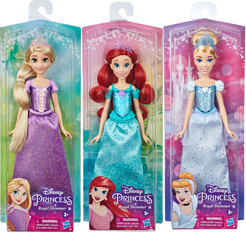 Wholesalers of Disney Princess Royal Shimmer Ast A toys