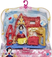 Wholesalers of Disney Princess Small Doll Mini Environment Ast toys image