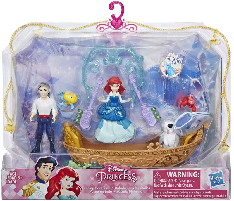 Disney Princess Small Doll Story Set Ast Wholesale