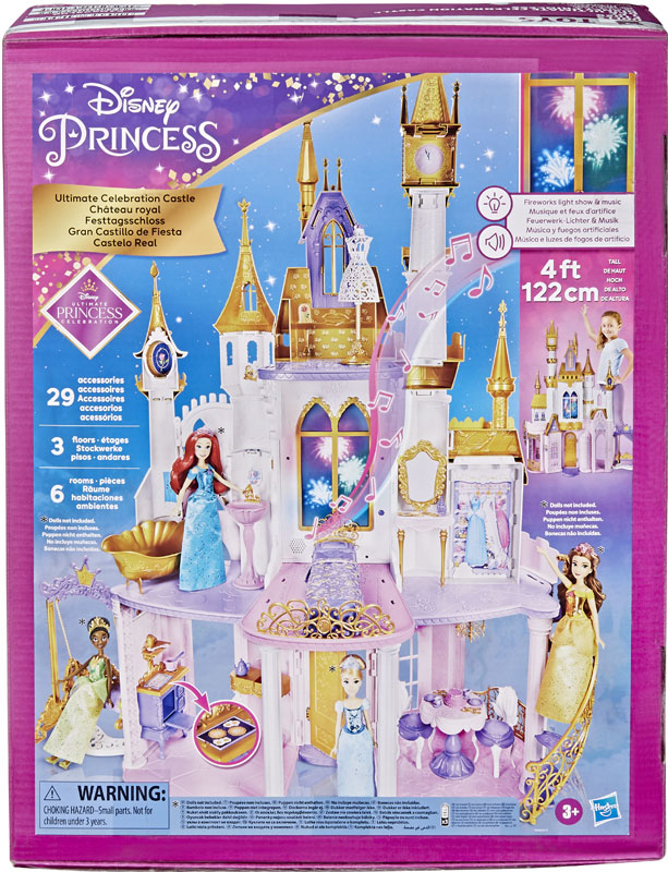 Wholesalers of Disney Princess Ultimate Celebration Castle toys