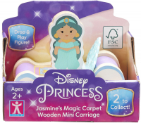 Wholesalers of Disney Princess Wooden Mini Carriages (2 Asst) toys image