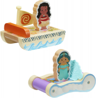Wholesalers of Disney Princess Wooden Mini Carriages (2 Asst) toys image 2