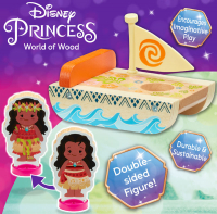 Wholesalers of Disney Princess Wooden Mini Carriages (2 Asst) toys image 3