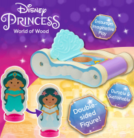 Wholesalers of Disney Princess Wooden Mini Carriages (2 Asst) toys image 4