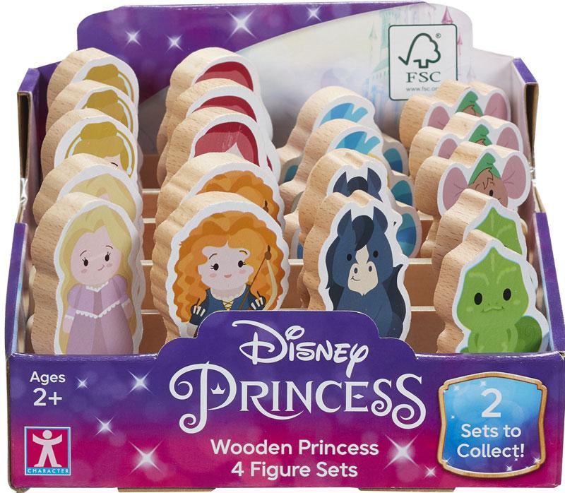 Wholesalers of Disney Princess Wooden Princess 4-figure Set toys