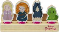 Wholesalers of Disney Princess Wooden Princess 4-figure Set toys image 2