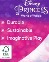 Wholesalers of Disney Princess Wooden Princess 4-figure Set toys image 5