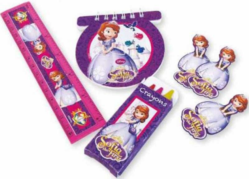 Wholesalers of Disney Sofia 20 Party Favors Stationery Pack toys