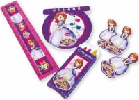 Wholesalers of Disney Sofia 20 Party Favors Stationery Pack toys image