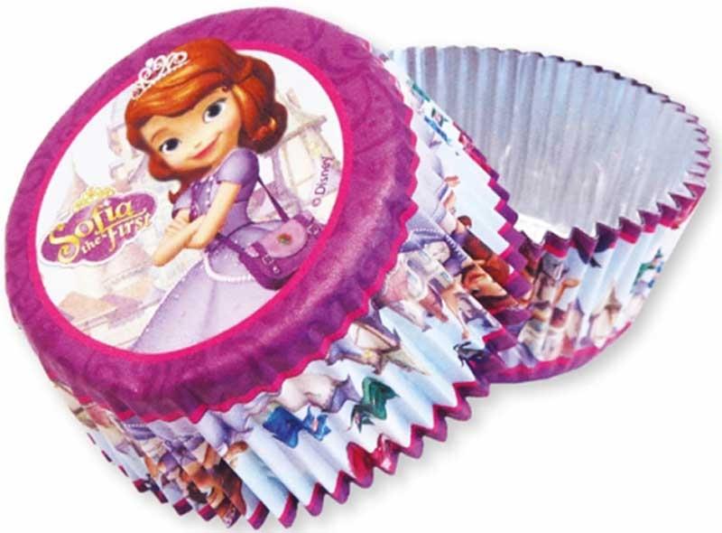 Wholesalers of Disney Sofia 24 Foil Cake Cases toys
