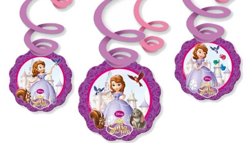Wholesalers of Disney Sofia Swirl Decoration toys