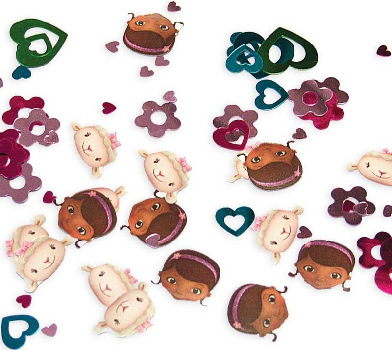 Wholesalers of Doc Mcstuffin Confetti toys