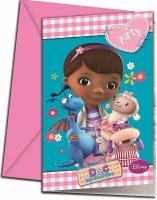 Wholesalers of Doc Mcstuffin Invites toys image