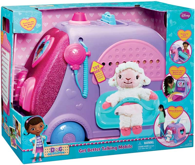 Wholesalers of Doc Mcstuffins Get Better Talking Mobile Clinic toys