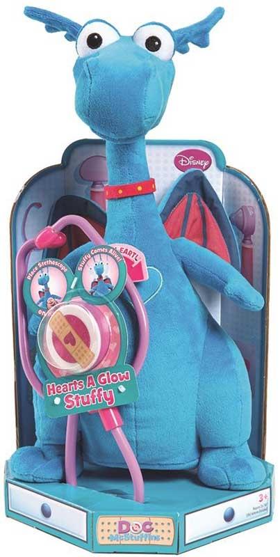 Wholesalers of Doc Mcstuffins Hearts A Glow Plush Asst toys