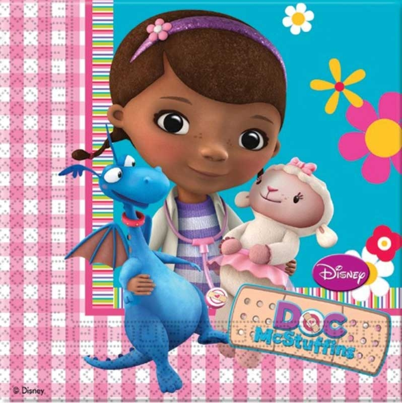 Wholesalers of Doc Mcstuffins Napkins toys