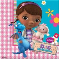 Wholesalers of Doc Mcstuffins Napkins toys image