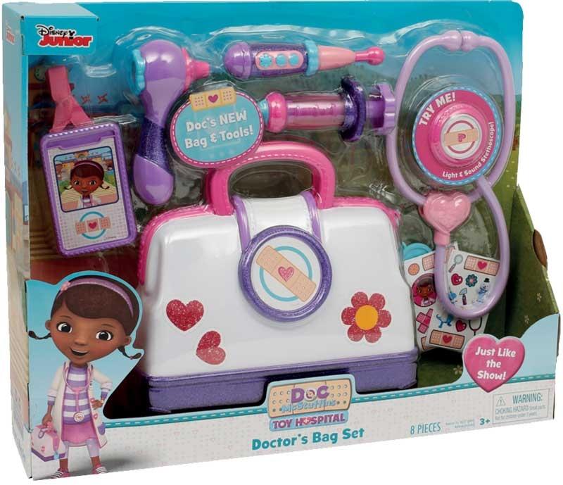 Wholesalers of Doc Mcstuffins Toy Hospital Bag Set toys