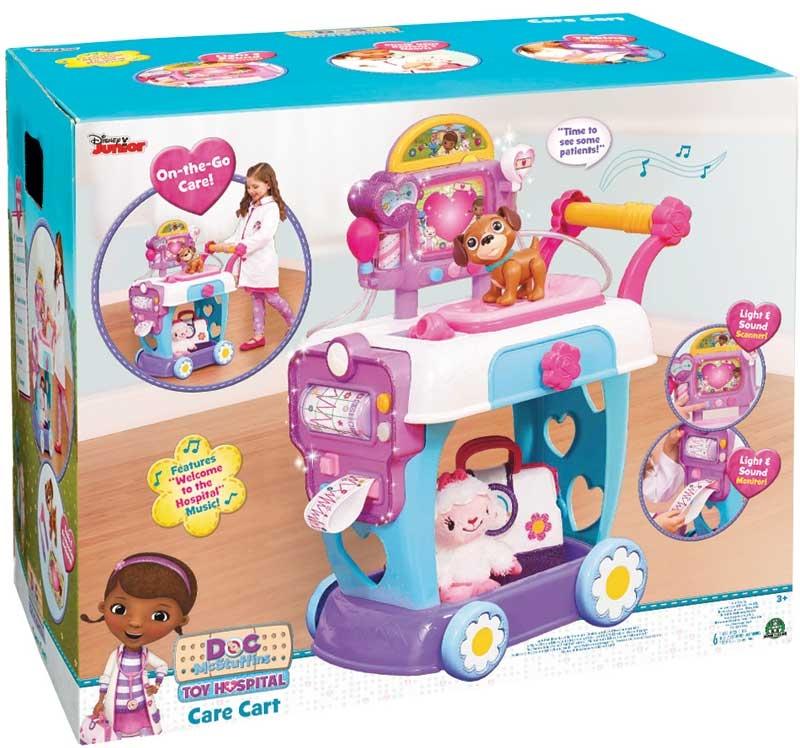 Wholesalers of Doc Mcstuffins Toy Hospital Care Cart toys