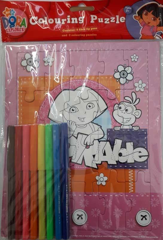 Dora The Explorer Colour Jigsaw Wholesale