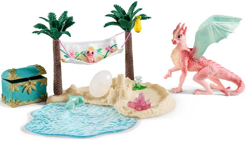 Wholesalers of Schleich Dragon Island With Treasure toys