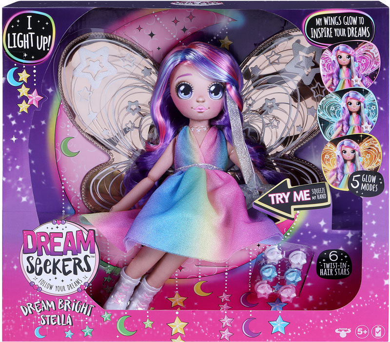 Wholesalers of Dream Seekers Light-up Stella toys