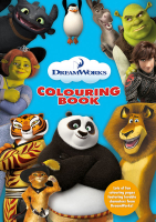 Wholesalers of Dreamworks Colouring Book toys image