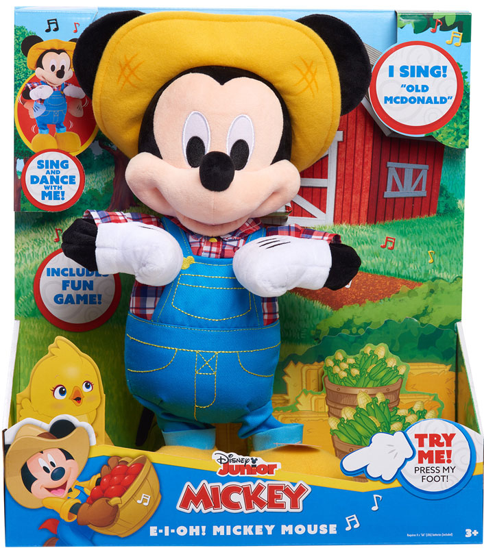 Wholesalers of E-i-oh! Mickey Mouse Feature Plush toys