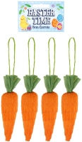 Wholesalers of Easter Carrots 8cm Pk4 toys image