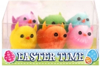 Wholesalers of Easter Chicks Multi Colour 3.5cm Pk6 toys image