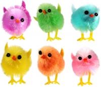 Wholesalers of Easter Chicks Multi Colour 3.5cm Pk6 toys image 2