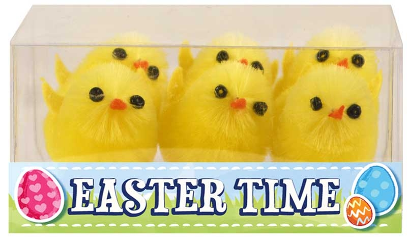 Wholesalers of Easter Chicks Yellow 3.5cm Pk6 toys