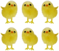 Wholesalers of Easter Chicks Yellow 3.5cm Pk6 toys image 2