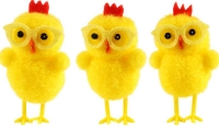 Wholesalers of Easter Chicks Yellow With Glasses 6cm Pk3 toys image 2