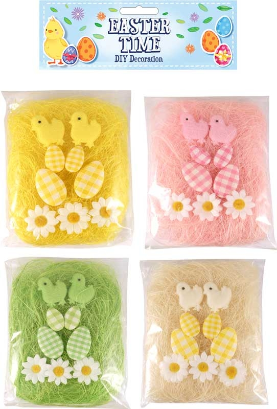 Wholesalers of Easter Decoration Diy 10 Pc Set Pk4 toys