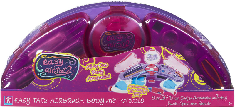 Wholesalers of Easy Tat2 Airbrush Body Art Studio toys
